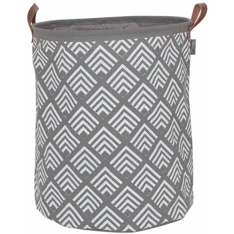 Sealskin Laundry Basket Angoli Grey 60 L 362292012