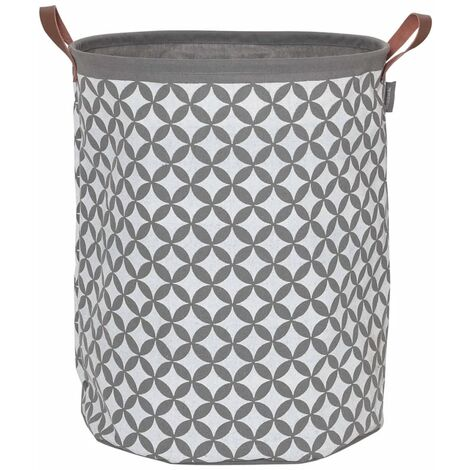 Sealskin Laundry Basket Diamonds Grey 60 L 362302012 - Grey