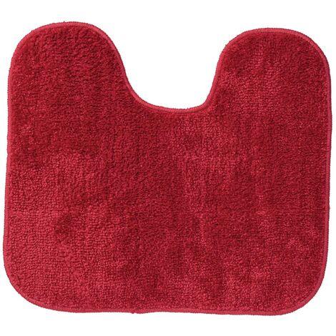 "main image of ""Sealskin Pedestal Mat Doux 45 x 50 cm Red 294428459 - Red"""
