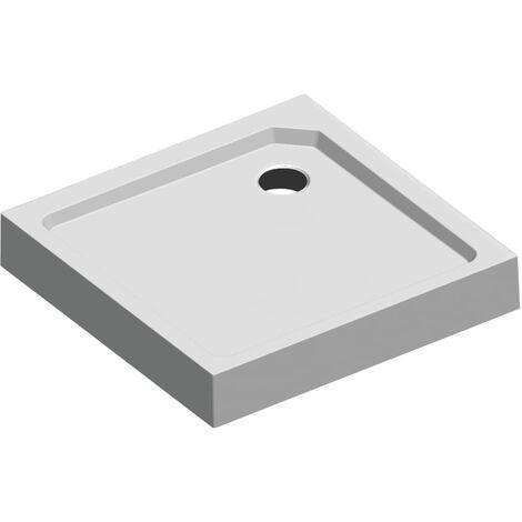 Sealskin plato de ducha cuadrado empotrable Get Wet 60431204610 - Blanco