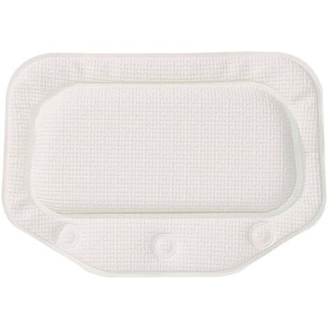 "main image of ""Sealskin Reposacabezas para bañera Unilux blanco 20x30 cm - Blanco"""