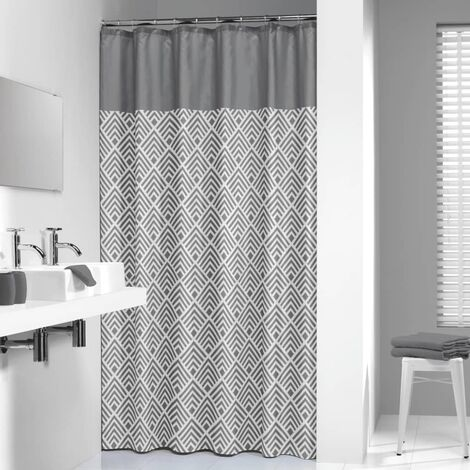 Sealskin Shower Curtain Angoli 180 cm Grey 233561312