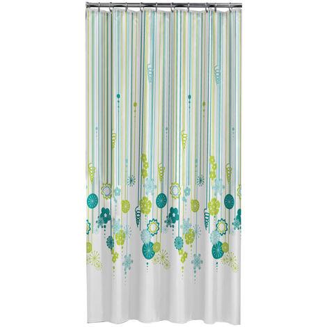 Sealskin Shower Curtain Fiesta 180 cm Green 235221326