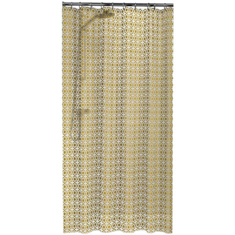 Sealskin Shower Curtain Hammam 180 cm Gold 210861349