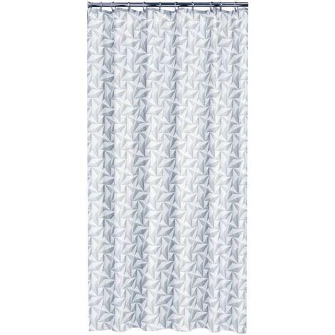 "main image of ""Sealskin Shower Curtain Piega 180 cm Grey 233591311 - Grey"""