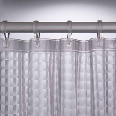 Sealskin Shower Curtain Prisma 180 cm Transparent 211181300
