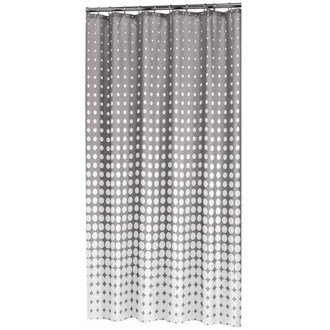 Sealskin Shower Curtain Speckles 180 cm Grey 233601314