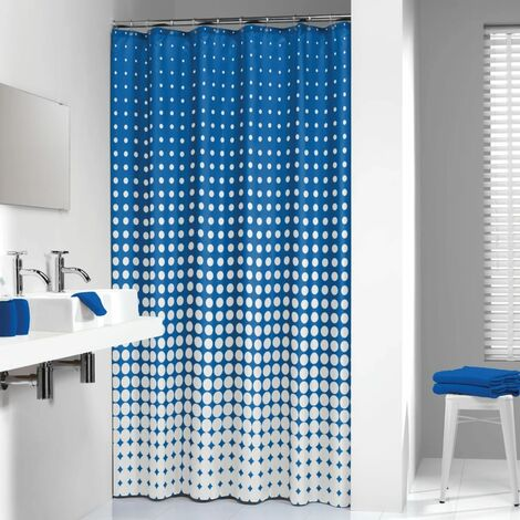 Sealskin Shower Curtain Speckles 180 cm Royal Blue 233601323