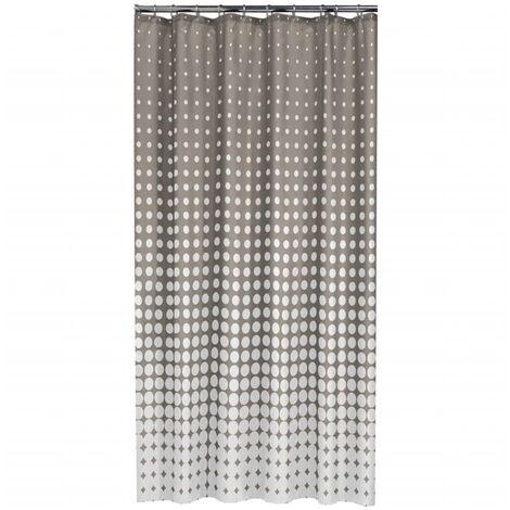 """main image of """"Sealskin Shower Curtain Speckles 180 cm Black 233601319 - Black"""""""