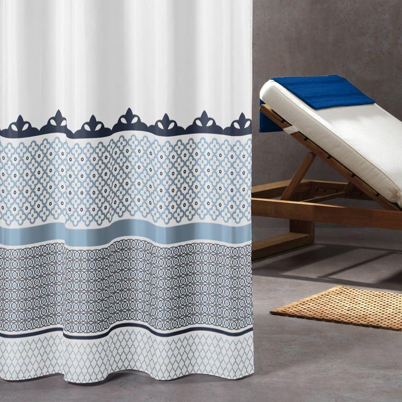 Sealskin Marrakech Tenda da Doccia 180 x 200 cm Poliestere Blu
