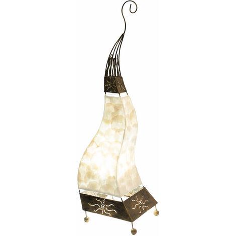 Seashell lampe de table balançoire éclairage de salon design beige beige Globo 25814T