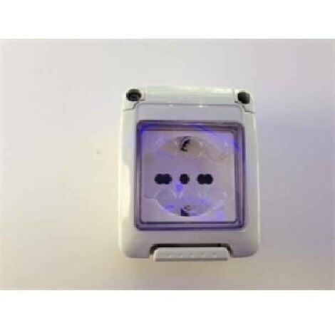 SEASON BOX AVEC PRESA UNEL 2P+E 16A IP55 GW27842