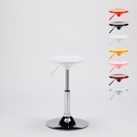 SEATTLE Backless Height Adjustable Children Stool