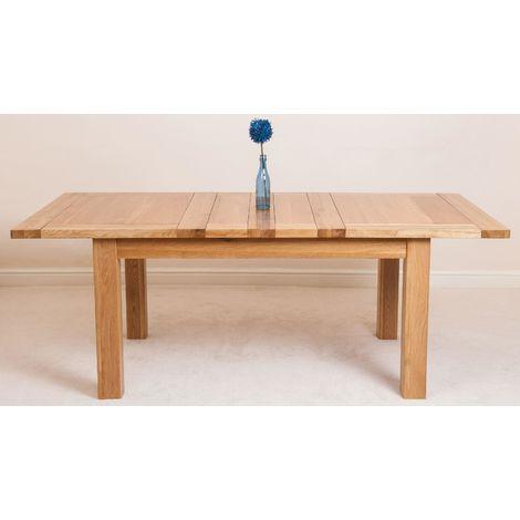 Seattle Solid Oak 150cm-210cm Extending Dining Table