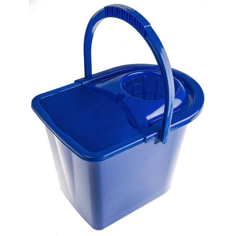 Seau à lessiver Bleu 12L avec essoreuse