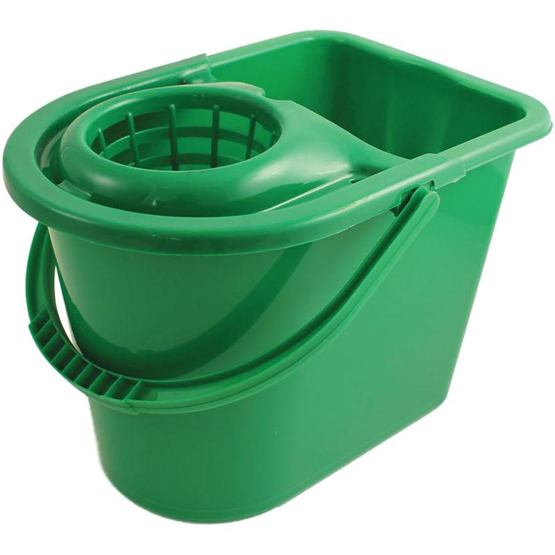 Rs Pro - Seau à lessiver Vert 12L avec essoreuse