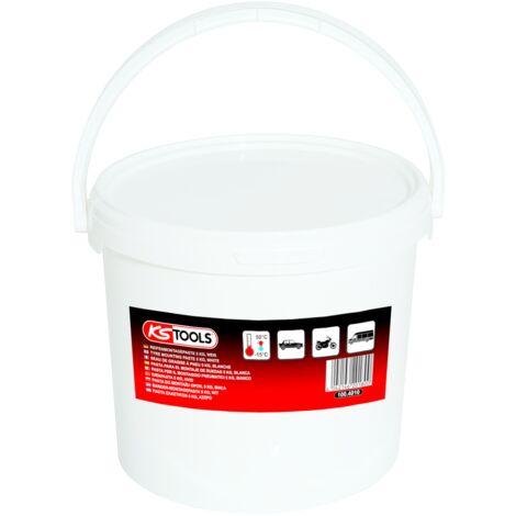 Seau de graisse à pneu blanche, 5KG KS Tools 1004010