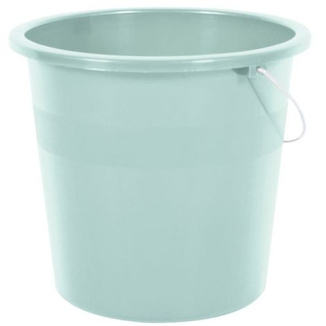 EDA - Seau de ménage - D: 28 cm - 10 L - vert d'eau
