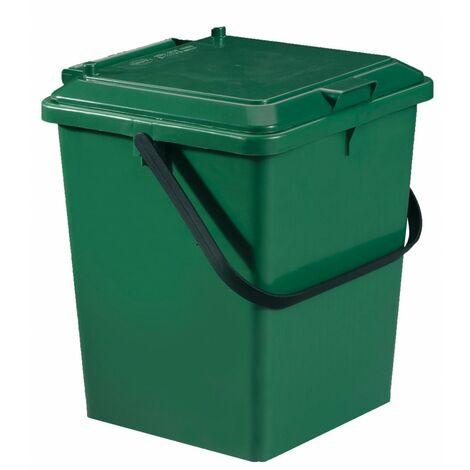 Seau monobloc GARANTIA 640010 vert sapin 8 l