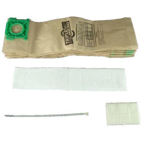 Sebo X4 Service Kit 10 x Vacuum Bags and Filter Kit