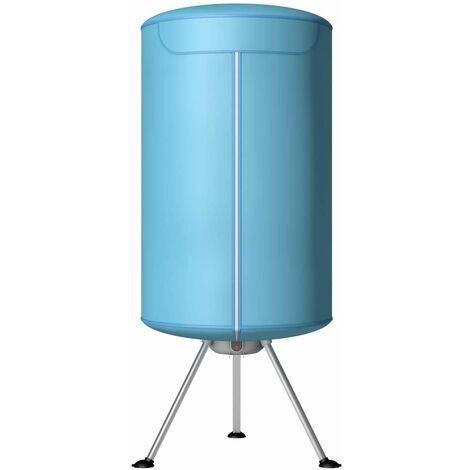 Secadora de Ropa Portátil Tendedero Eléctrico Plegable 900 W con Temporizador para Camping Viaje Hogar
