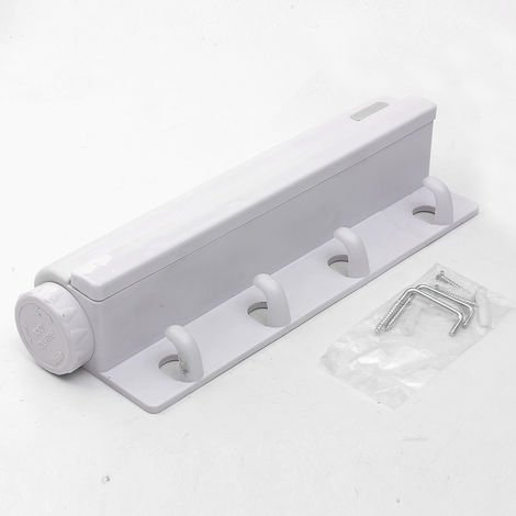 Secadora retráctil + percha nueva línea de lavado de paredes interiores y exteriores LAVENTE