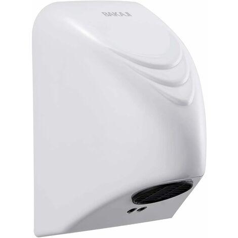 Sèche-mains électrique à air chaud avec capteur photomobile