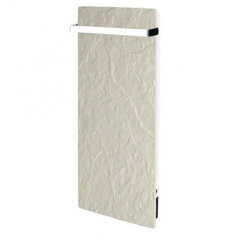 Sèche-serviette à inertie Wifi Ardoise Blanche 1300W Vertical - Valderoma AB13BLW