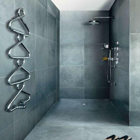 Sèche-serviette ACOVA Archibald chromé eau chaude 233W ARCHO-120-050
