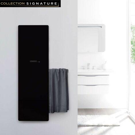 Sèche-serviette ACOVA Versus Noir electrique 600W VSB-150-048