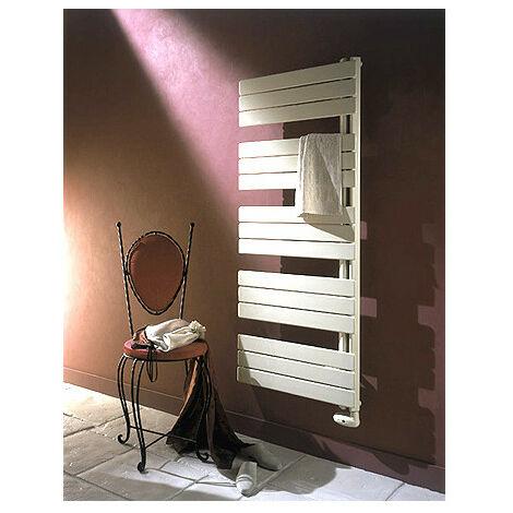 Sèche-serviette ARBORESCENCE collecteur droite Mixte blanc 1000W