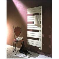 Sèche-serviette ARBORESCENCE collecteur droite Mixte blanc 750W