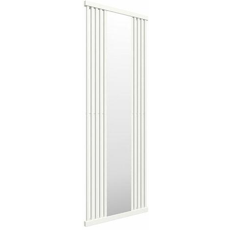 Sèche-serviette avec miroir - Blanc - Intra/YL (plusieurs tailles disponibles)