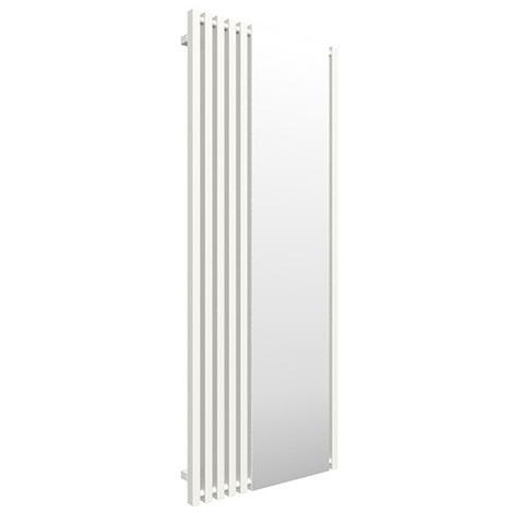 Sèche-serviette avec miroir - Blanc - Triga M/YLB (plusieurs tailles disponibles)
