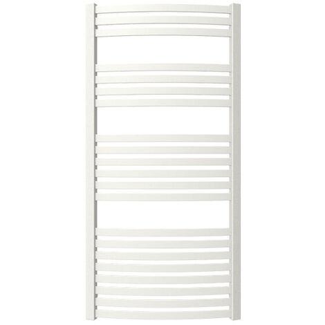 Sèche-serviette chauffage central - Blanc - Raccordement aux extrémités - Dexter/SXB (plusieurs tailles disponibles)