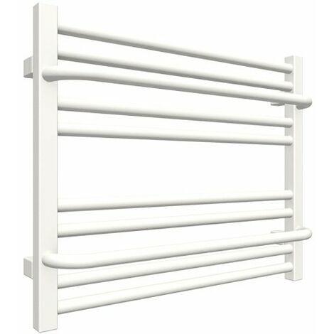 Sèche-serviette chauffage central - Blanc - Raccordement aux extrémités - Lima/P/SXB (plusieurs tailles disponibles)