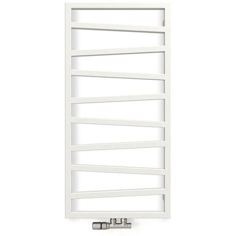 Sèche-serviette chauffage central - Blanc - Zigzag/ZXB (plusieurs tailles disponibles)