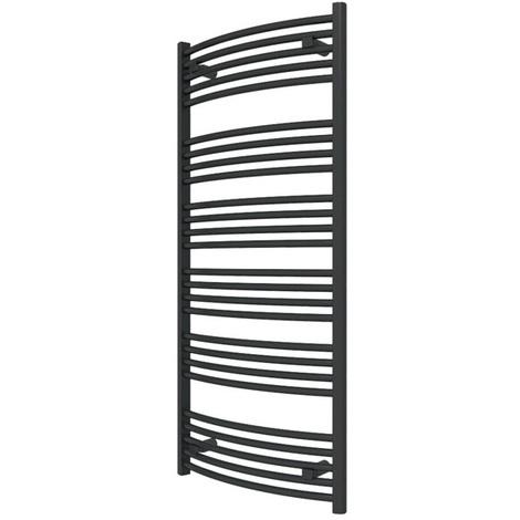 i s che serviette chauffage central noir de 1479mm de. Black Bedroom Furniture Sets. Home Design Ideas