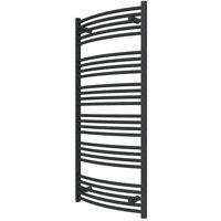 Sèche-serviette chauffage central - Noir - Domi/SXN (plusieurs tailles disponibles)