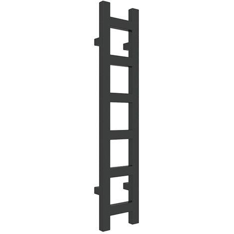 Sèche-serviette chauffage central - Noir Mat - Easy/SXN (plusieurs tailles disponibles)