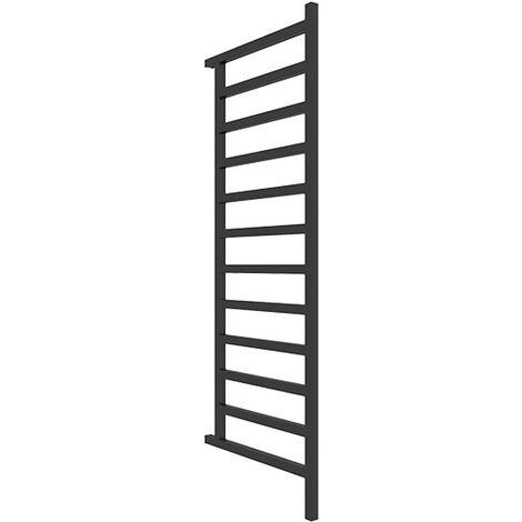 Sèche-serviette chauffage central - Noir Mat - Simple DW/ZXN (plusieurs tailles disponibles)