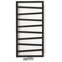 Sèche-serviette chauffage central - Noir Mat - Zigzag/ZXN (plusieurs tailles disponibles)