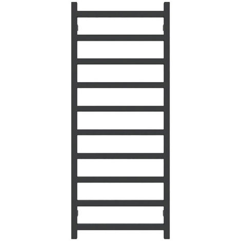 Sèche-serviette chauffage central - Noir - Simple/SXN (plusieurs tailles disponibles)
