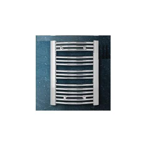 Seche serviette eau chaude acier chromé H800mm L600mm chauffage central 267W Andros RADSON AN0608CH