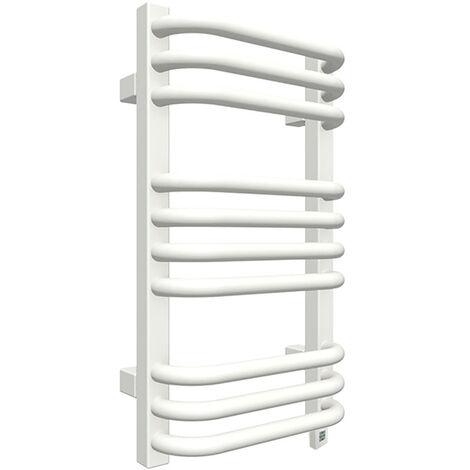 Sèche-serviette électrique blanc - Raccordement à droite - Alex/E8B (plusieurs tailles disponibles)