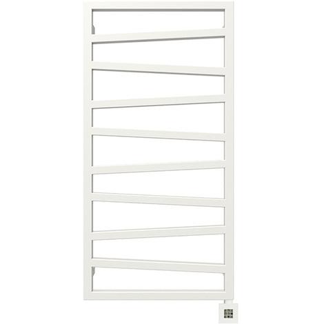 Sèche-serviette électrique - Blanc - Zigzag/E8B (plusieurs tailles disponibles)