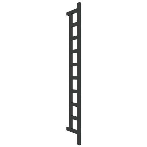 Sèche-serviette électrique - Noir Mat - Easy DW/E1N (plusieurs tailles disponibles)