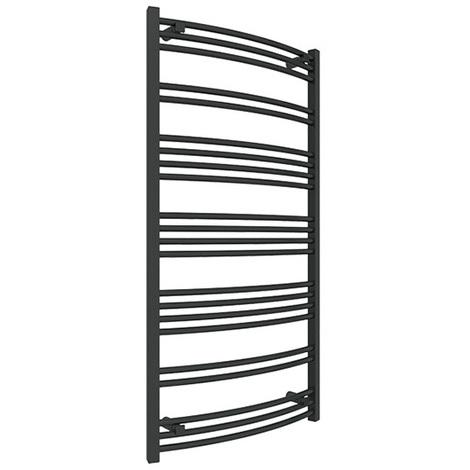 Sèche-serviette électrique - Noir Mat - Jade/E1N (plusieurs tailles disponibles)