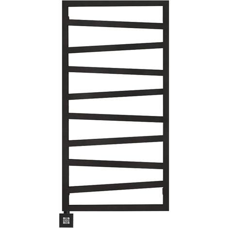 Sèche-serviette électrique - Noir Mat - Zigzag/E1N (plusieurs tailles disponibles)