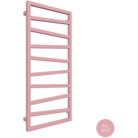 Sèche-serviette électrique - Rose Clair - Zigzag/E8 (plusieurs tailles disponibles)